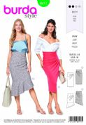 6417 Burda Pattern: Ladies Skirts